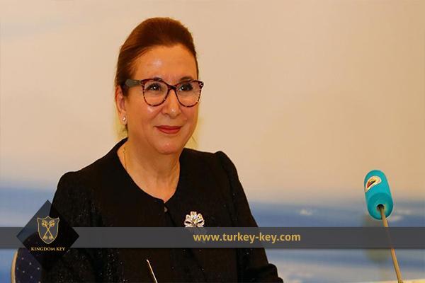 وزيرة التجارة التركية